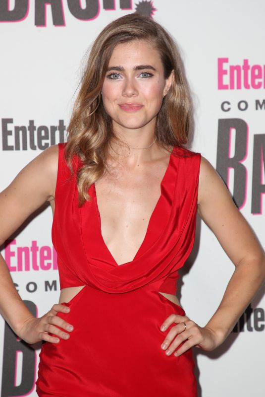 MELISSA ROXBOURGH at Entertainment Weekly Party at Comic-con in San Diego 07/21/2018