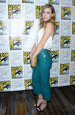 MELISSA ROXBURGH at Arrow Press Call at Comic-con in San Diego 07/21/2018