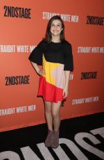 MIA SINCLAIR JENNESS at Straight White Men Broadway Play Opening Night in New York 07/23/2018
