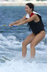 MICHELLE and AURORA HUNZIKER Water Skiing in Milano Marittima 07/06/2018