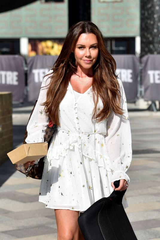 MICHELLE HEATON at ITV Studios in London 07/24/2018