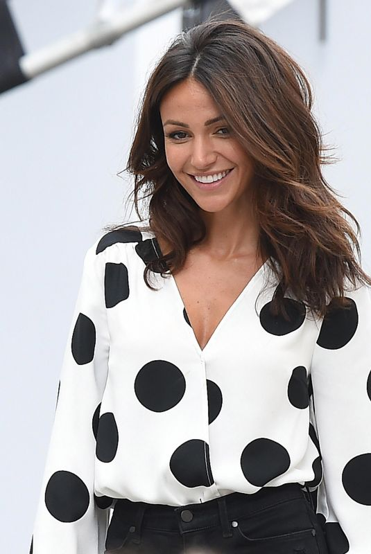 MICHELLE KEEGAN on the Set of a Photoshoot in London 07/05/2018