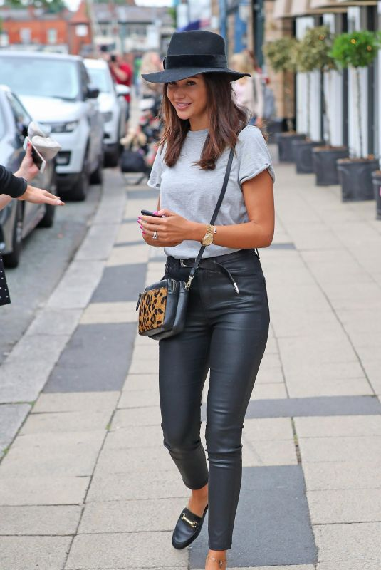 MICHELLE KEEGAN Out and About in Cheshire 07/21/2018