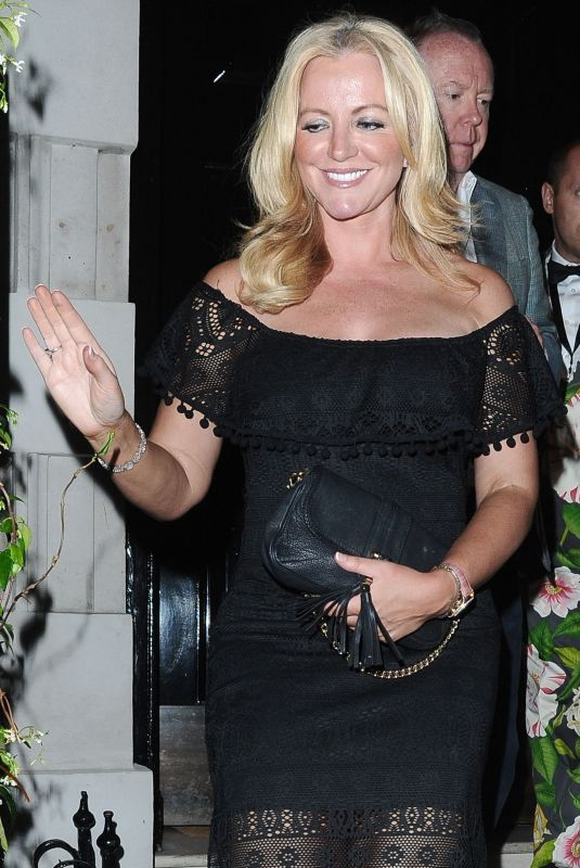 MICHELLE MONE Out and About in London 07/06/2018