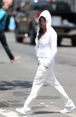 MICHELLE RODRIGUEZ Out for Lunch in New York 07/11/2018