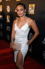 MICHELLE WATERSTONE at UFC Hall of Fame