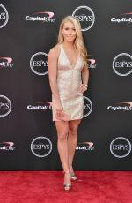 MIKAELA SHIFFRIN at 2018 Espy Awards in Los Angeles 07/18/2018