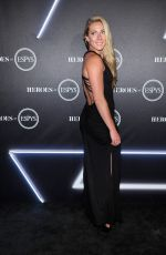 MIKAELA SHIFFRIN at Heroes at the Espys Pre-party in Los Angeles 07/17/2018