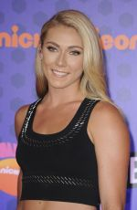 MIKAELA SHIFFRIN at Nickelodeon