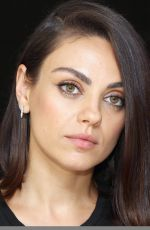 MILA KUNIS at The Spy Who Dumped Me Press Conference in New York 07/13/2018