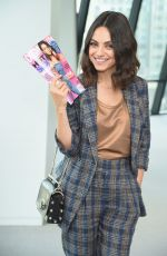 MILA KUNIS at The Spy Who Dumped Me Screening Hosted by Cosmopolitan in New York 07/12/2018