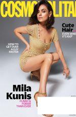 MILA KUNIS in Cosmopolitan Magazine, August 2018