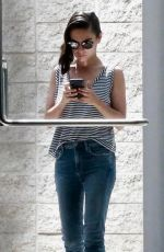 MILA KUNIS Leaves a Meeting in Century City 07/26/2018