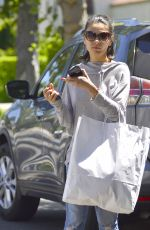 MILA KUNIS Out Shopping in Los Angeles 07/08/2018