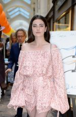 MILLIE BRADY at Manolo Blahnik Colourful Garden Party in London 07/04/2018