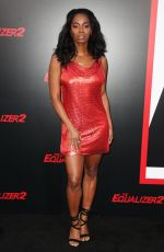 MILUANA JACKSON at The Equalizer 2 Premiere in Los Angeles 07/17/2018