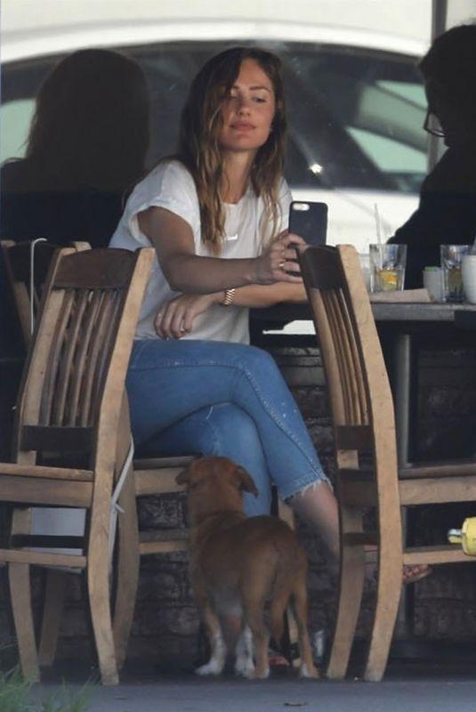 MINKA KELLY at Kings Road Cafe in Los Angeles 07/03/2018