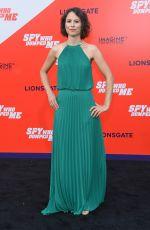MIRJAM NOVAK at The Spy Who Dumped Me Premiere in Los Angeles 07/25/2018