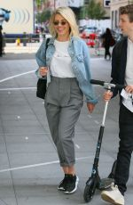 MOLLIE KING Arrives at BBC Radio in London 07/12/2018