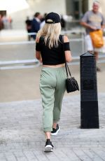 MOLLIE KING Arrives at BBC Radio One in London 07/13/2018