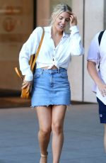 MOLLIE KING Leaves BBC House in London 07/15/2018