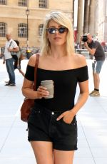 MOLLIE KING Out and About in London 07/27/2018