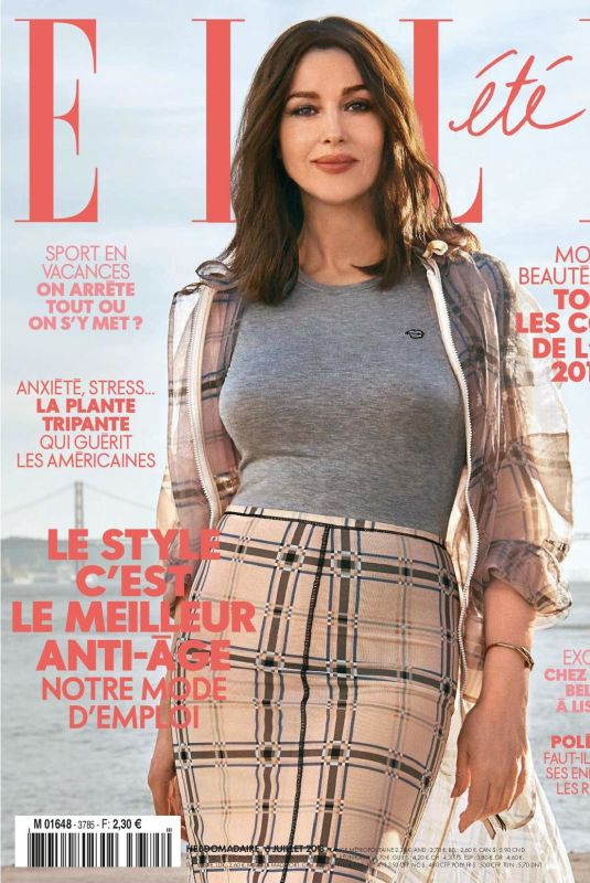 MONICA BELLUCCI in Elle Magazine, France July 2018 Issue