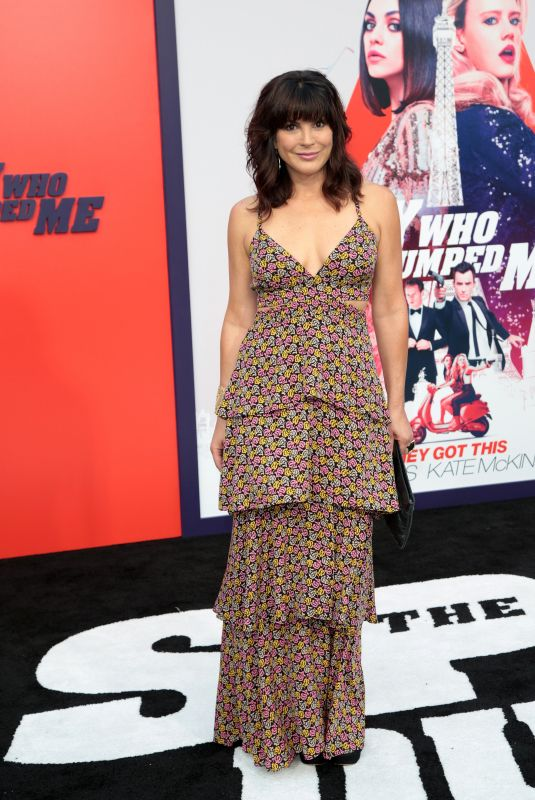 MONIQUA PLANTE at The Spy Who Dumped Me Premiere in Los Angeles 07/25/2018