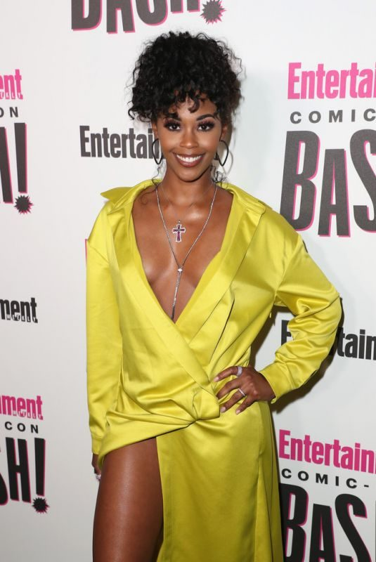 NAFESSA WILLIAMS at Entertainment Weekly Party at Comic-con in San Diego 07/21/2018