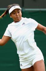 NAOMI OSAKA at Wimbledon Tennis Championships in London 07/05/2018