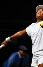 NAOMI OSAKA at Wimbledon Tennis Championships in London 07/07/2018