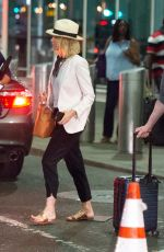 NAOMI WATTS and Billy Crudup at JFK Airport in New York 07/12/2018