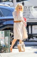NAOMI WATTS Out with Her Dog in New York 07/20/2018