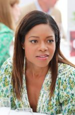 NAOMIE HARRIS at Audi Polo Challenge at Coworth Park Polo Club 07/01/2018