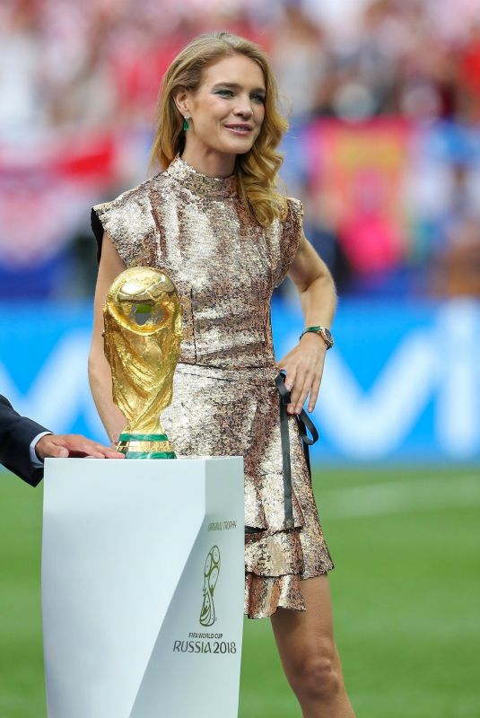 NATALIA VODIANOVA at 2018 World Cup Final in Moscow 07/15/2018