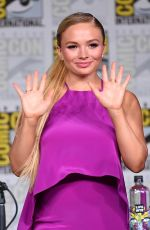 NATALIE ALYN LIND at The Gifted Panel at Comic-con in San Diego 07/21/2018