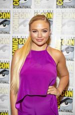NATALIE ALYN LIND at The Gifted Photocall at Comic-con in San Diego 07/21/2018