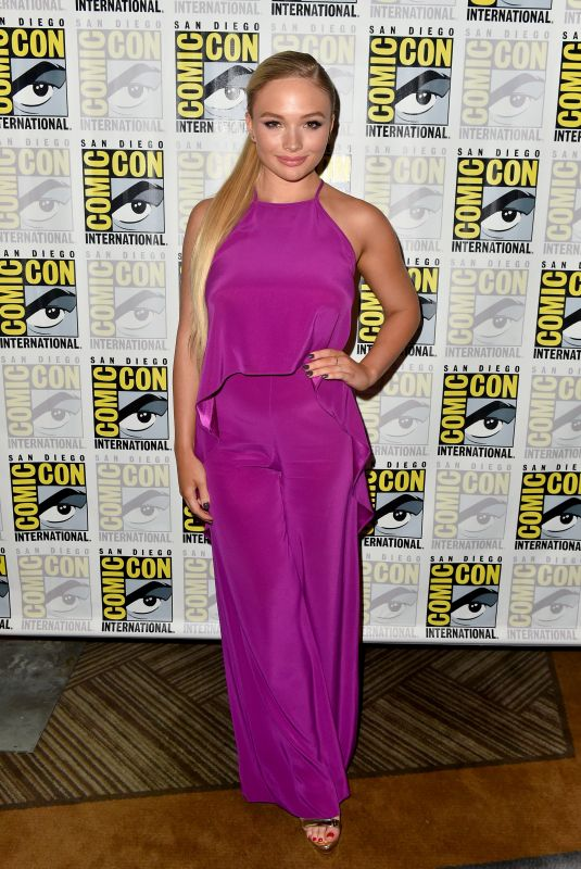 NATALIE ALYN LIND at The Gifted Press Line at Comic-con in San Diego 07/21/2018
