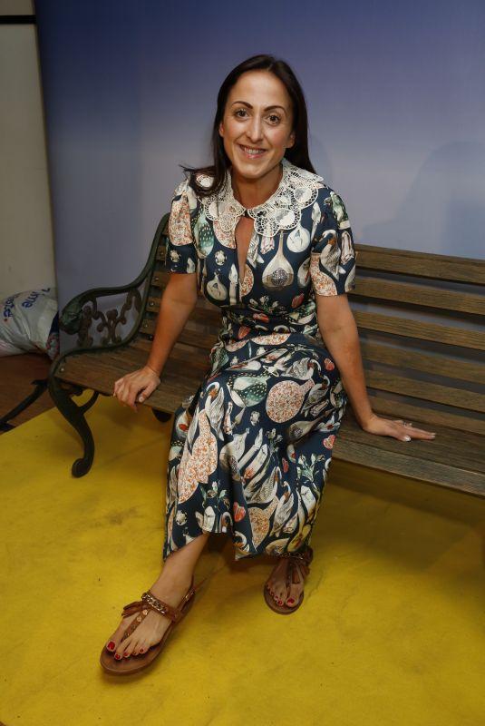 NATALIE CASSIDY at David Walliams