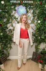 NATALIE DORMER at Championship Wimbledon Hosted by Stella Artois in London 07/02/2018