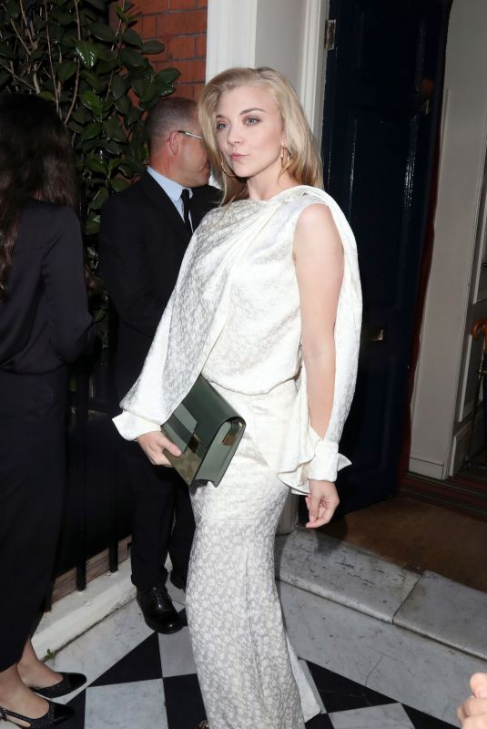 NATALIE DORMER at Delvaux x Vogue Cocktails and Dinner in London 07/10/2018