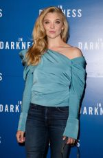 NATALIE DORMER at In Darkness Photocall in London 07/03/2018