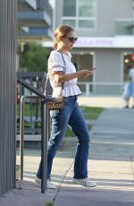 NATALIE PORTMAN Out for Lunch at Cafe Gratitude in Los Angeles 07/28/2018