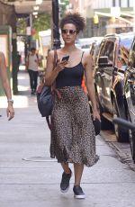 NATHALIE EMMANUEL Out in New York 07/18/2018