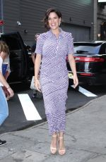 NEVE CAMPBELL Arrives at Good Morning America in New York 07/12/2018