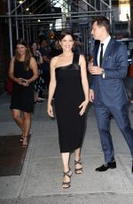 NEVE CAMPBELL Arrives at Late Show with Stephen Colbert in New York 07/10/2018