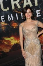 NEVE CAMPBELL at Skyscraper Premiere in New York 07/10/2018