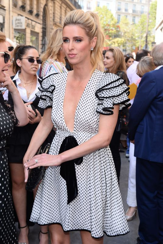 NICKY HILTON at Ralph & Russo Fashion Show in Paris 07/02/2018