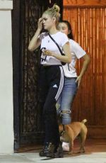 NICOLA PELTZ Out with Her Dog in Beverly Hills 07/26/2018