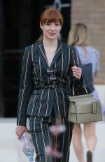 NICOLA ROBERTS Leaves ITV Studio in London 07/05/2018